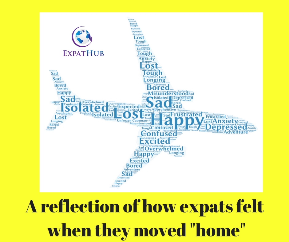 A reflection of how expats feel when they move home