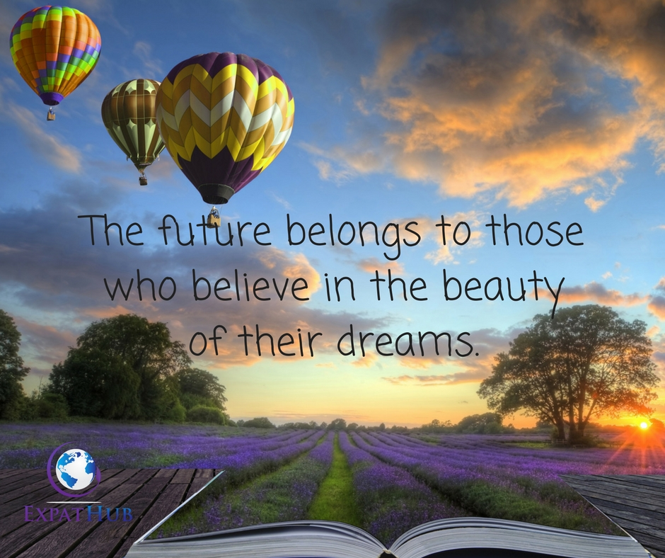 The future belongs to thosewho believe in the beauty of their dreams.
