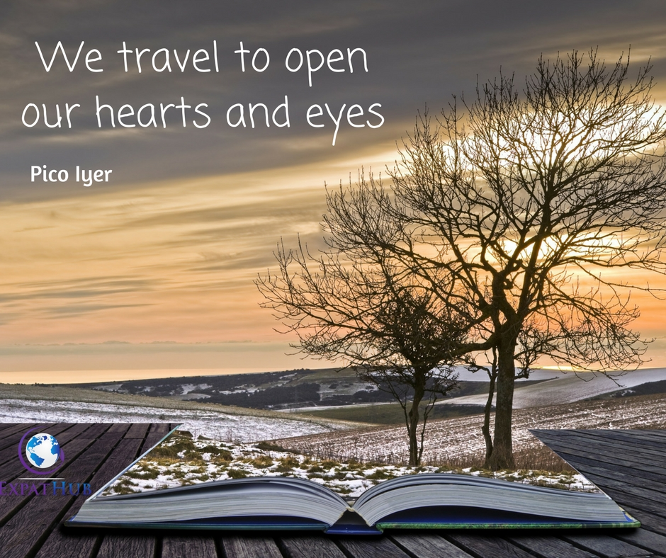 We travel to open our hearts and eyes